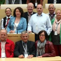 Besuch im Bayerischen Landtag im Maximilianeum in München