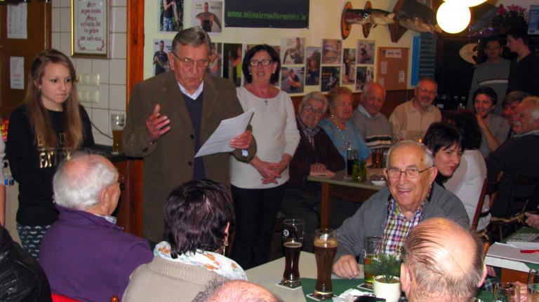 Christbaumversteigerung 2014 im Gasthaus Huberwirt
